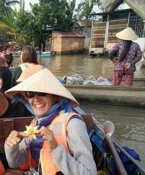 Alexandra au Vietnam