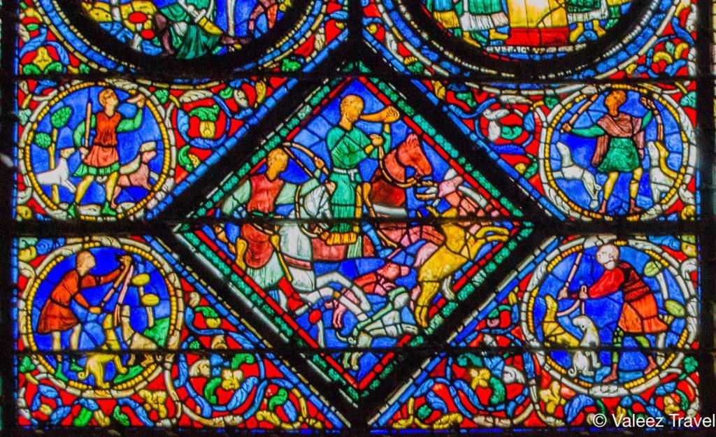 Cathédrale Notre-Dame de Chartres - Vitrail