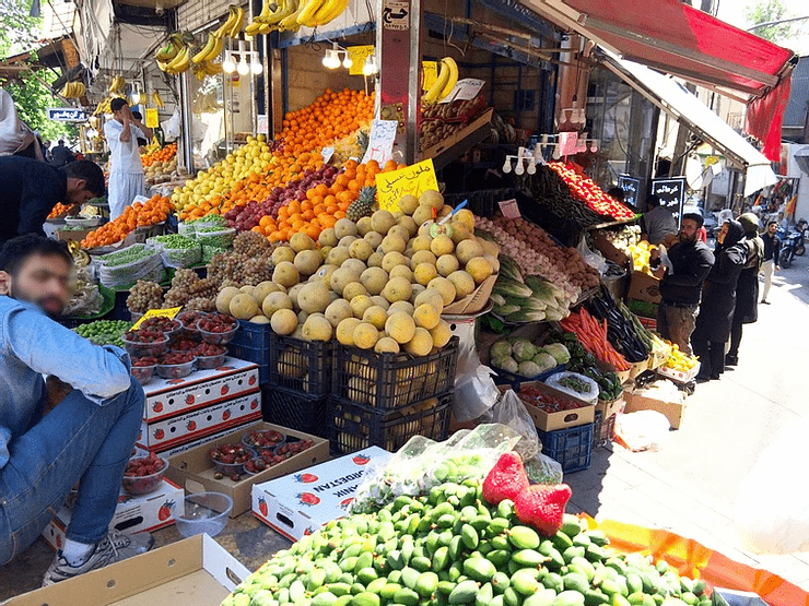 Marché de Teheran